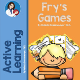 Fry's First 100 Sight Words Active Games