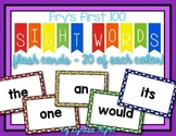 Fry's First 100 Sight Words - Flash Cards