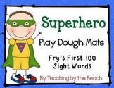 Fry's First 100 Sight Words Superhero Play Dough Mats