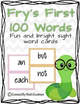 Fry's First 100 Words - chevron