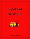 Fry's First 50 Words