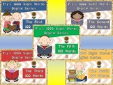 Fry's First 500 Digital Sight Words Bundle by EdTunes Jr.