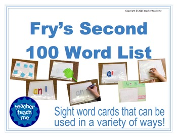 Fry's First 500 Sight Word Combo Pack