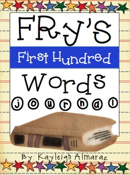 Fry's First Hundred Words Journal