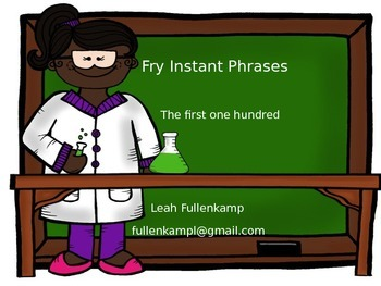 Fry's First One Hundred Instant Phrases