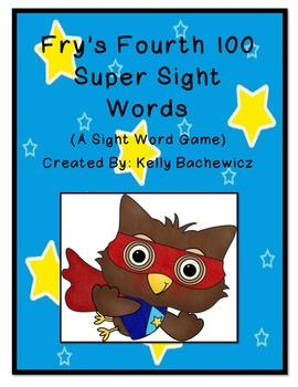 Fry's Sight Words-Fourth 100
