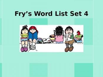 Fry's HFW's Power Point words 301-400