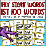 Fry Sight Words | Sight Word Games | First Grade Sight Words | 2 Editable Cards