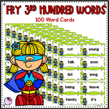 Fry's High Frequency Sight Words 3rd 100 Words ZAP Game