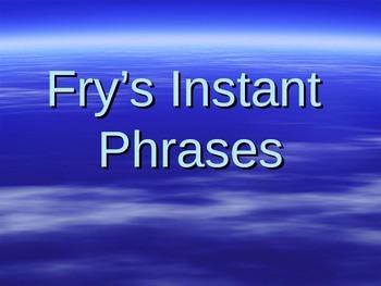 Fry's Instant Phrases Flash