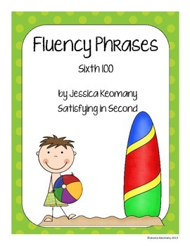 6th 100 Fluency Phrases