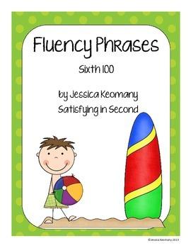 6th 100 Fluency Phrases