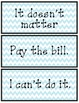 Fry's Phrases for Fluency/Progress Monitoring Flash Cards-