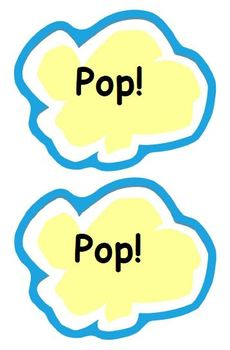 Popcorn Words! Fry's First One Hundred Sight Words (K-1)