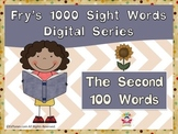 Fry's Second 100 Digital Sight Words by EdTunes Jr.
