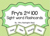 Fry Word Flashcards - 2nd 100