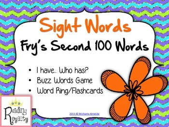 Fry's Sight Words Activity Pack (Words 101-200)