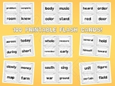 Fry's Fourth 100 Sight Words Flash Cards by EdTunes Jr.