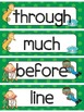 Fry's Second 100 Sight Words Word Wall - Under the Sea