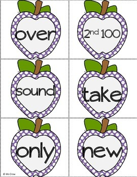 Second 100 Fry Words Flash Cards