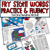 Fry's Sight Words Activities, Games, Worksheets 2nd Hundred Words