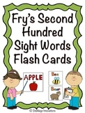 Fry's Second Hundred Sight Word Flash Cards