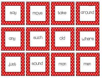 Fry's Second List of Sight Words Activities