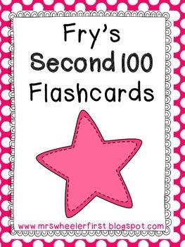 Second Grade Sight Words: Flashcards