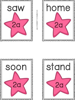 Second Grade Sight Words: Flashcards