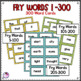 Fry's Sight Word Game *Bundle* Includes First 300 Words editable