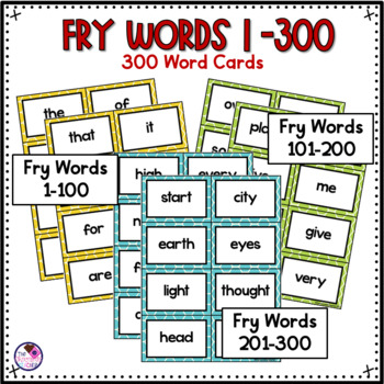 Fry Sight Words Game *Bundle* Includes First 300 Words editable