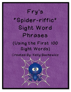 Fry's Sight Word Phrases-First 100