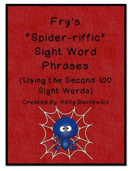 Fry's Sight Word Phrases-Second 100