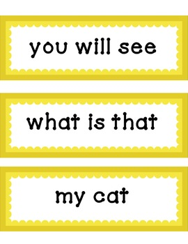 Fry's Sight Words