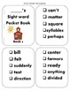 Fry's Sight Word Pocket / Sticker Books { Second 500 }