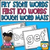 Fry's Sight Words 1-100 Dough Mats
