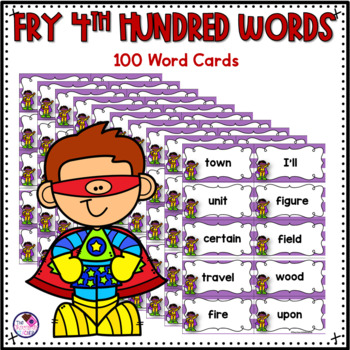 Fry's Sight Words 4th Hundred Words ZAP Game
