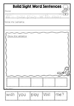 Fry Sight Words Pack 3 (Words 51-75)
