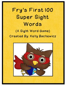 Fry's Sight Words-First 100