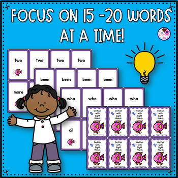 Fry's Sight Words First 100 Go Fish Game