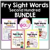 Fry Sight Words Pack - 2nd Hundred Bundle