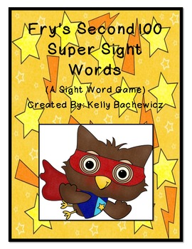 Fry's Sight Words-Second 100