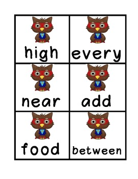 Fry's Sight Words-Third 100