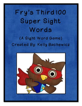 Fry's Sight Words-Third 100