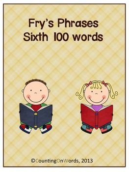 Fry's Sixth 100 Phrases with graphics