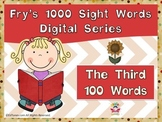 Fry's Third 100 Digital Sight Words by EdTunes Jr.