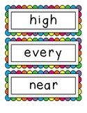 Fry's Third 100 Sight Words - Word Wall