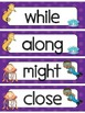Fry's Third 100 Sight Words Word Wall - Under the Sea