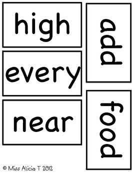 Fry's Third 100 Word Wall Words