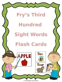 Fry's Third Hundred Sight Word Flash Cards